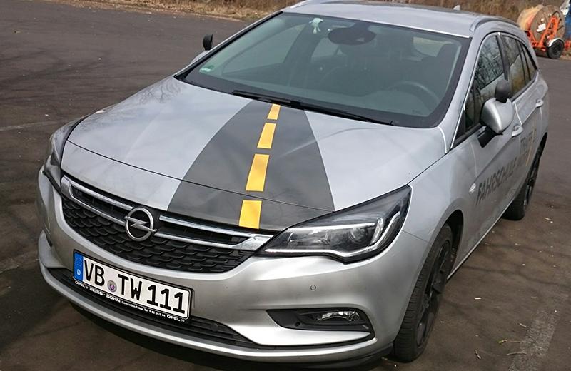 Fahrschule Graf Autoführerschein Auto silber